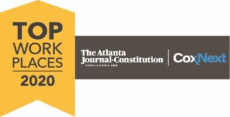 2020 Top Workplace by the Atlanta Journal-Constitution