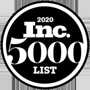 Inc 5000 list award 2020